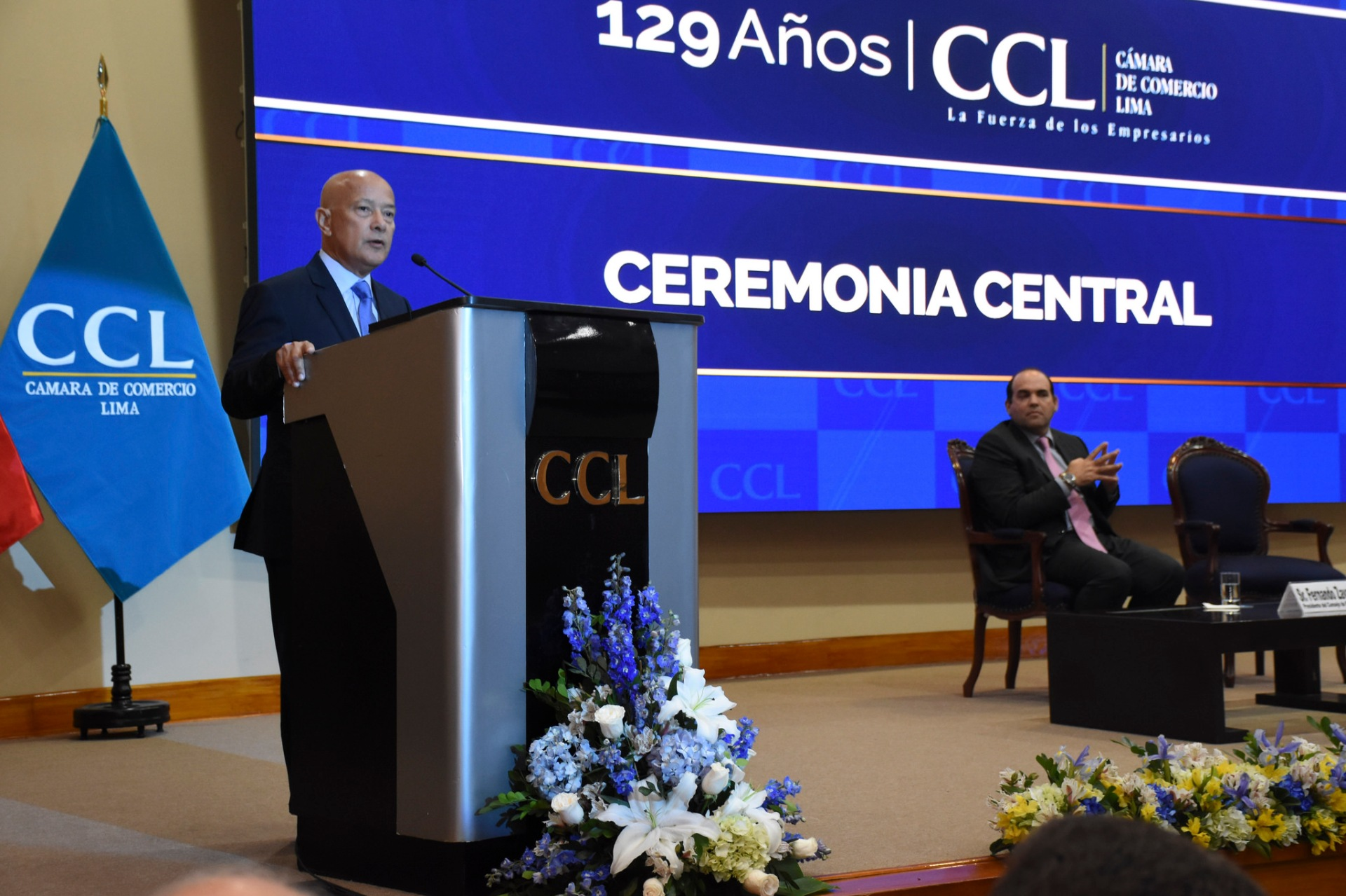 Mongilardi en la ceremonia central de la CCL