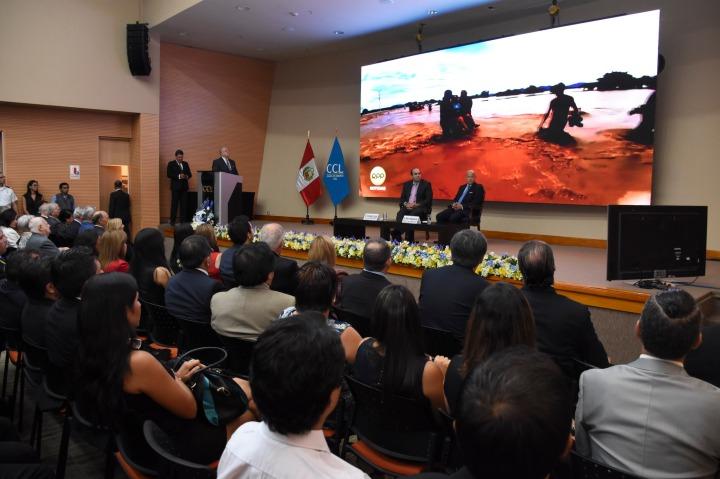 Zavala, Mongilardi y Lanzara en el aniversario de la CCL