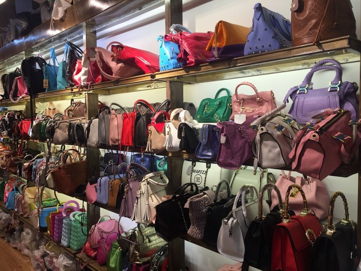 Warehouse Bags Colors Shopping Market Sale China