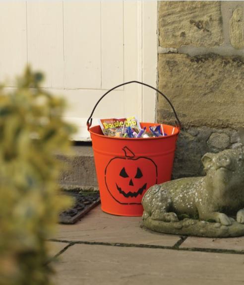 Lata de dulces - Halloween
