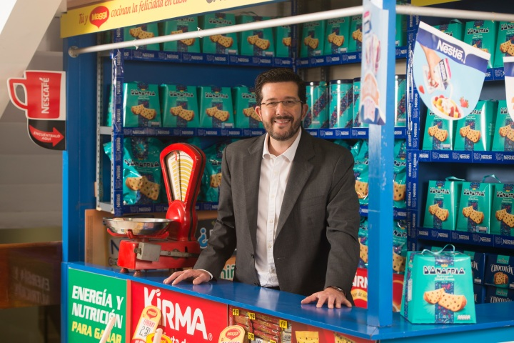Ricardo Bassani, Gerente de Confiteria en Nestle Perú.