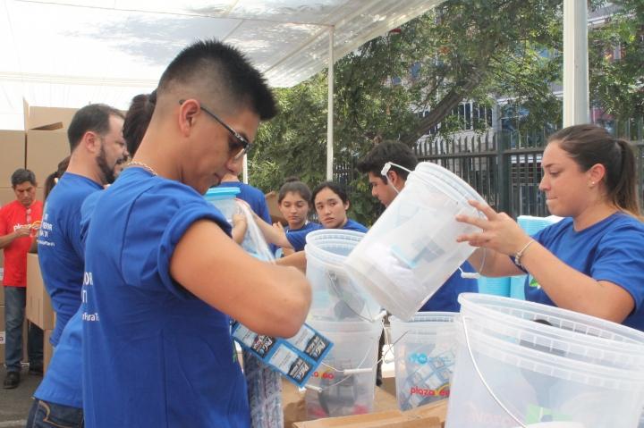 Voluntarios Perú_Agua Limpia para los Niños