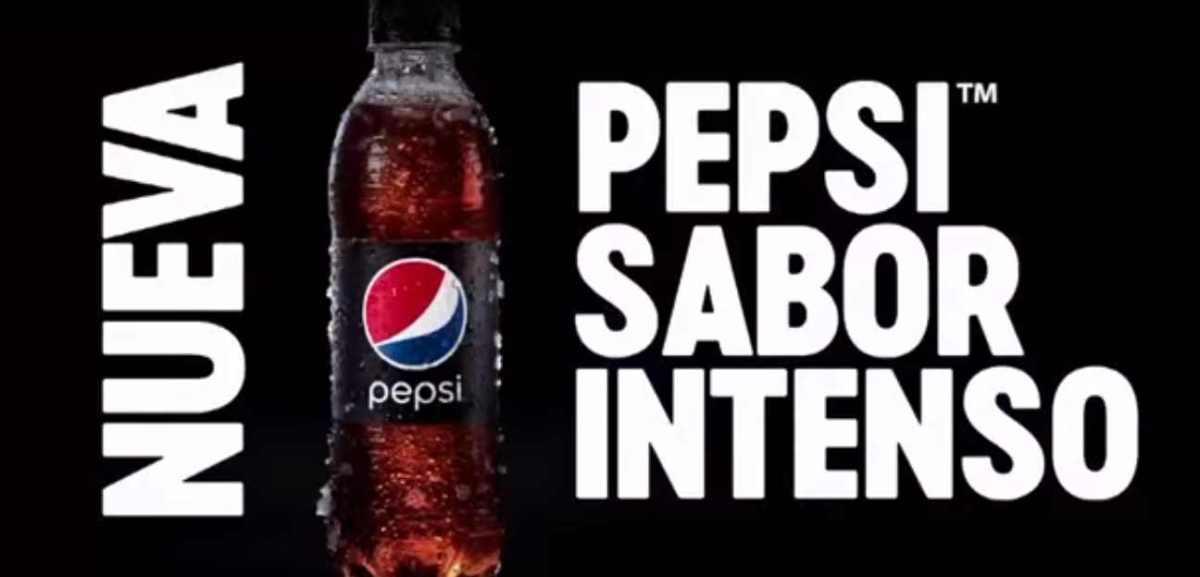 Pepsi sale de la rutina y lanza su nuevo sabor intenso