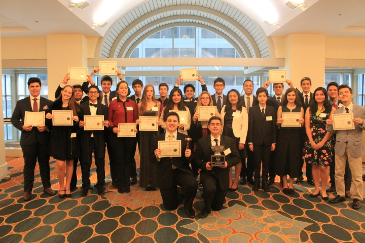 Premios Ivy League MUN Filadelfia