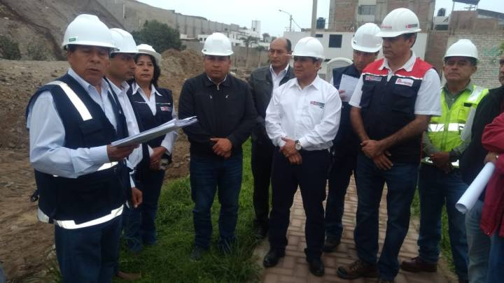 Se invierten más de 7 millones en obra de mejoramiento y ampliación de agua potable y alcantarillado en distrito Huanchaco