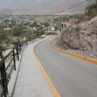 Santa Rosa de Quives ahora cuentan con nuevas pistas y veredas