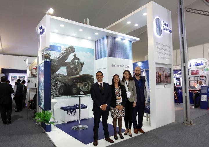 San Martín Participa en Expomina 2018