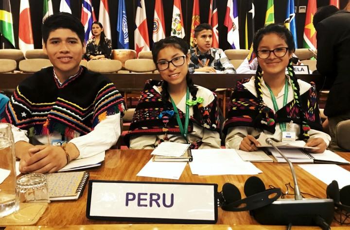 Foto Peruanos en Premio América Solidaria