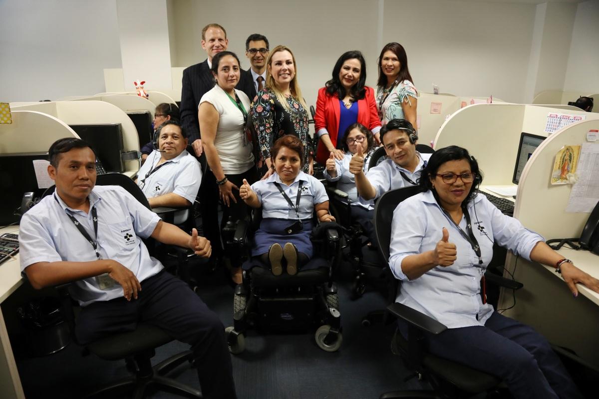EsSalud reinsertó laboralmente personas con discapacidad