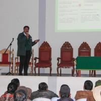 Trabajo articulado con gobiernos locales y el GORE de Ayacucho a favor del agro