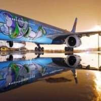 Avión de Toy Story listo!