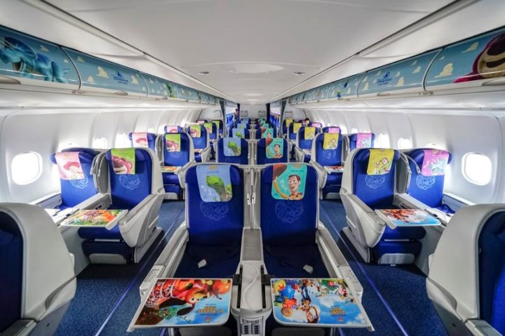Toy Story Airbus- China Eastern Airlines