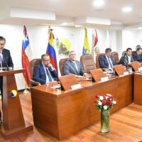 Perú asume presidencia del Parlamento Andino