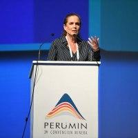 Claudia Cooper se convierte en la presidenta de Perumin 35