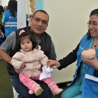 """""""Armada de Hierro"""" llegó al Callao para luchar contra la anemia infantil"""