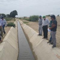 Rehabilitan canal de riego Narihualá en Catacaos y Cura Mori