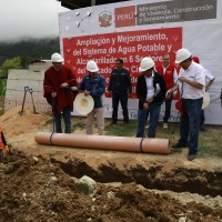 S/ 5 millones para ampliar cobertura de agua potable y alcantarillado en Celendín