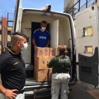 COVID 19 | Internas del penal de Chorillos reciben kits de protección