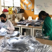 ENGIE se suma a la fabricación digital de caretas de protección facial